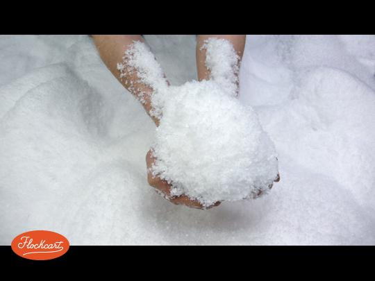 Искусственный снег своими руками из соды и пены для бритья 22